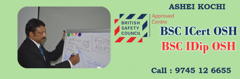 British Safety Council Level6 IDipOSH ASHEI Kochi International Diploma In Occupational Health