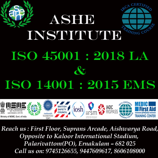 Qatar iso 45001:2018 LA & iso 14001:2015 EMS LA @ ASHEI