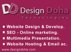 Design Doha - professional web site design, web development, e-commerce solution