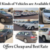 All kinds of Vehicles are now Available for Rent