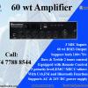 60 watt Amplifier