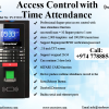 Access Control with Time Attendance System