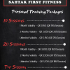 Personal Trainer ready to train you!
