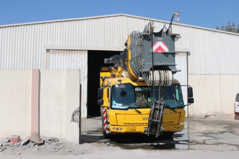 Qatar Terex Cranes in Qatar | 250 ton crane in Qatar | all