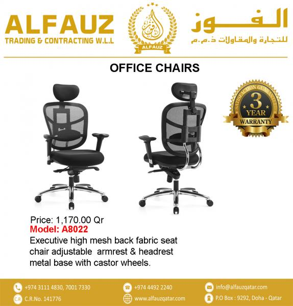 Qatar Executive Office Chairs