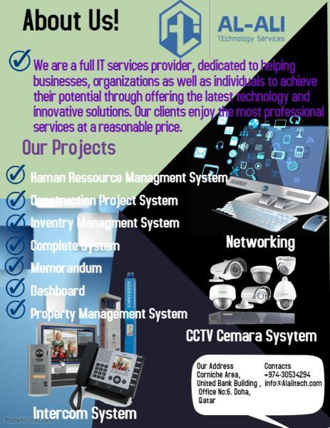 Qatar CCTV Security & surveillance - Services - Real Estate