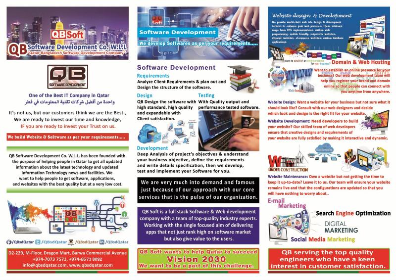Qatar One of Best IT Company in Qatar (Software & Web Development